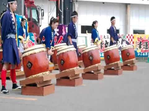 北海ソーラン祭り(余市町、7月)
