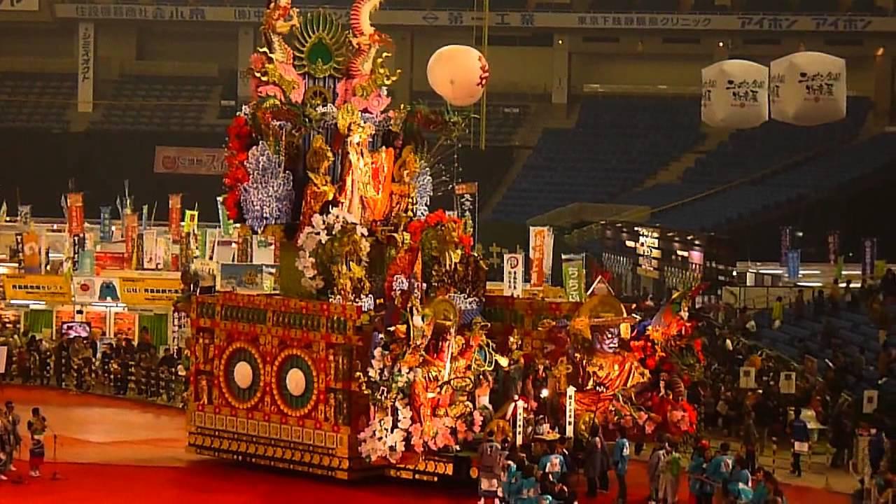 八戸三社大祭(八戸市、7月31日〜8月4日)