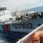 【今すぐ滅びてほしい国アンケート堂々の第1位・中国】中国船体当たり動画!