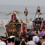 【浜降祭 (はまおりさい)】(茅ヶ崎市・寒川町 7月海の日)
