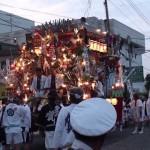 直方山笠(直方市 7月)