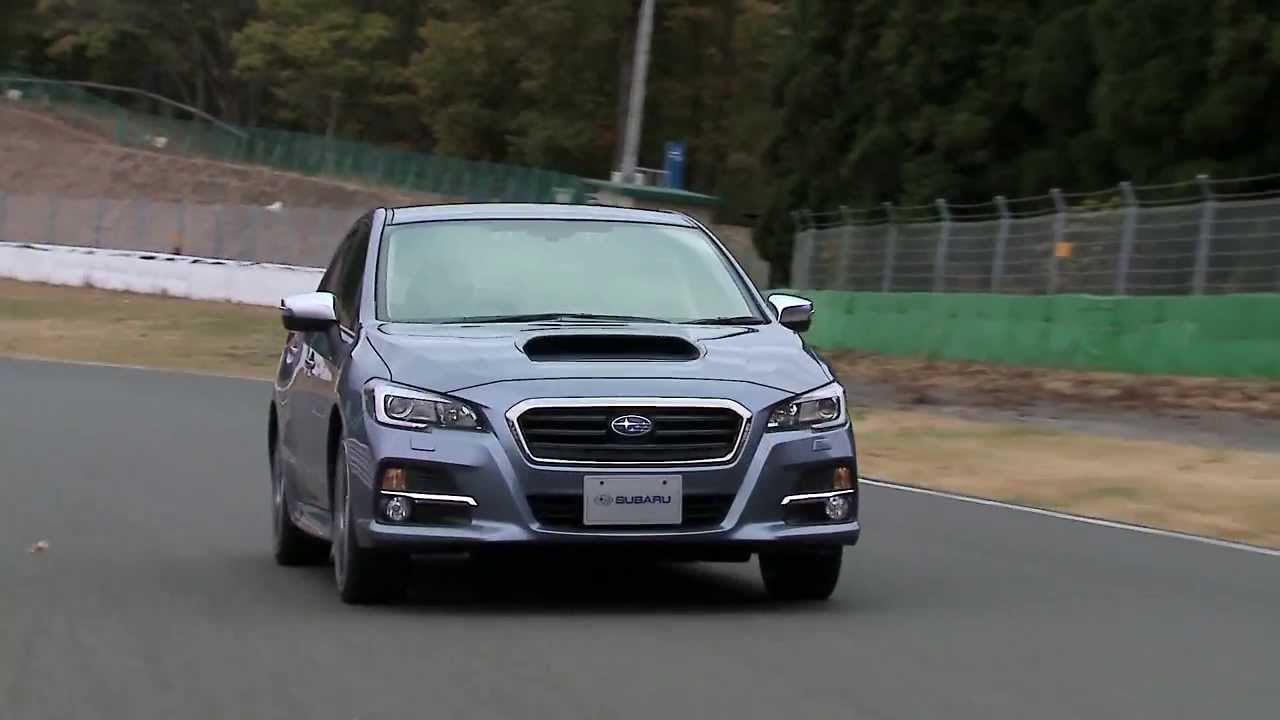 スバルの新型車 LEVORG(レボーグ)