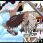 153話「ここは空の海!空の騎士と天国の門!」