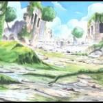 """176話「""""巨大豆蔓""""を登れ!!上層遺跡の死闘」"""