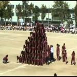 【スゴ技】組体操10段ピラミッド