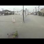 四国中心に激しい雨 高知県で雨量1000ミリ超