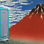 富士山の登山道には汚物がいっぱい・・・