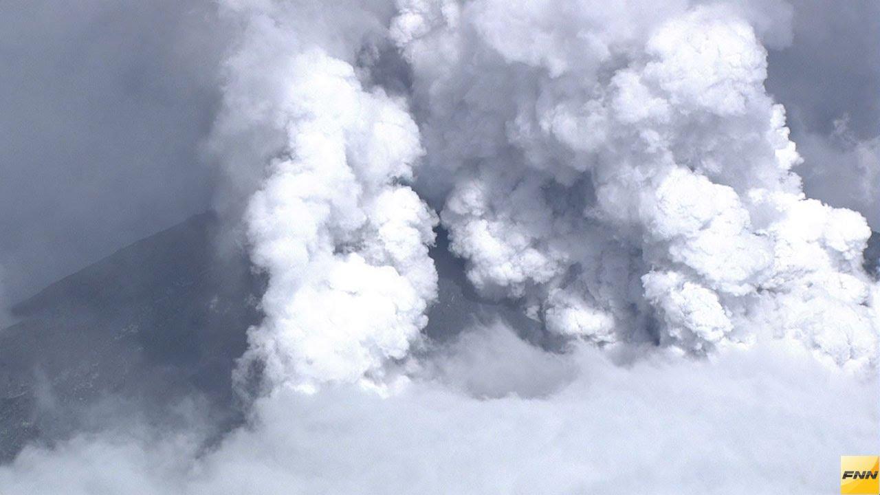 御嶽山が噴火!