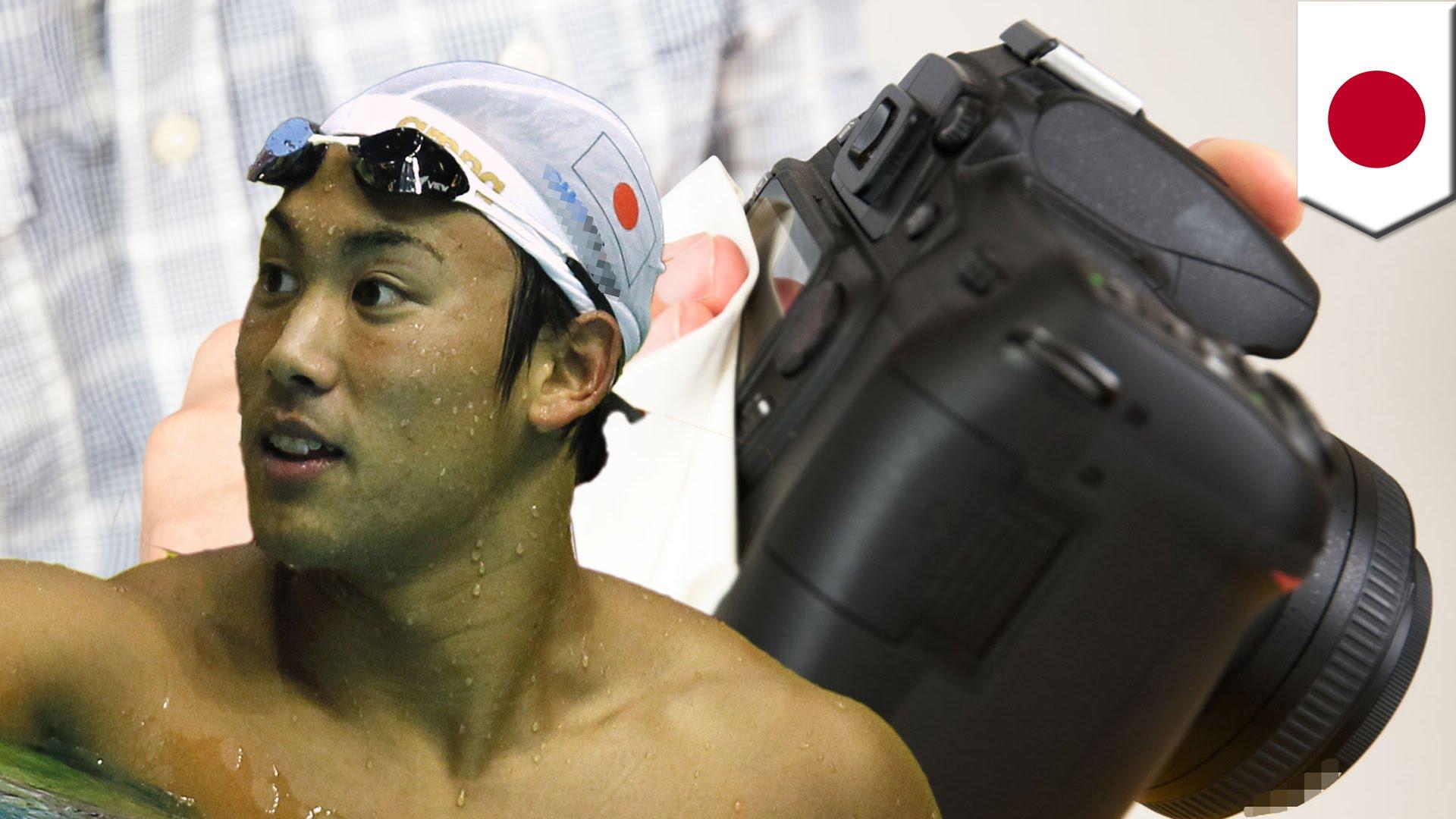 競泳男子日本代表の冨田尚弥がカメラ盗む