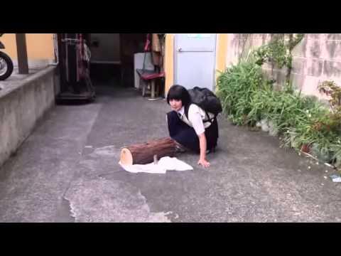 【忍者女子高生】日本の「忍者女子高生」のすご技動画!
