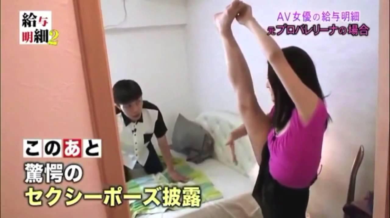 AV女優の給与明細を大公開!