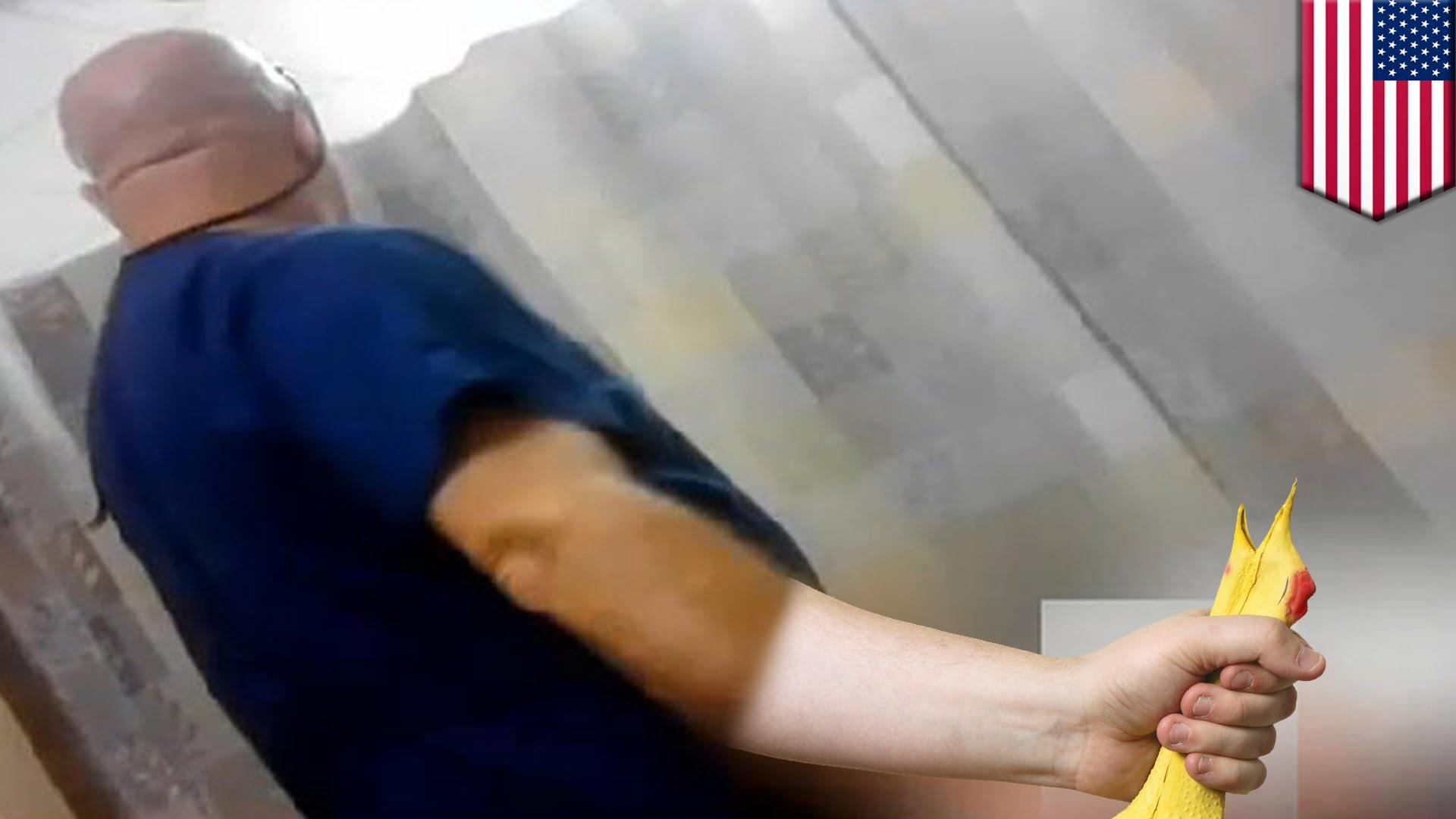 ゲイ看護師にアソコ触らる・・・