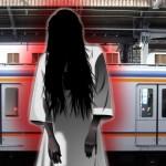 ネット騒然!線路に飛び込んだ女性が消えた…