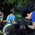 【閲覧注意】大蛇アナコンダが人間丸飲み!