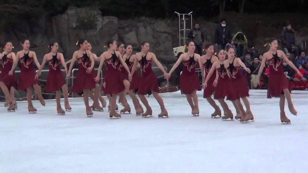 氷上のチア!『シンクロスケート』