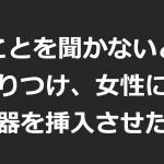 福島県郡山市レイプ事件「言うことを聞かないと殺す」と怒鳴りつけ、女性に自ら、性器を挿入させた・・・