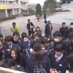 高校の合格発表 合格の瞬間!