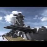 空母エンタープライズ(アメリカ) vs 戦艦武蔵(日本)
