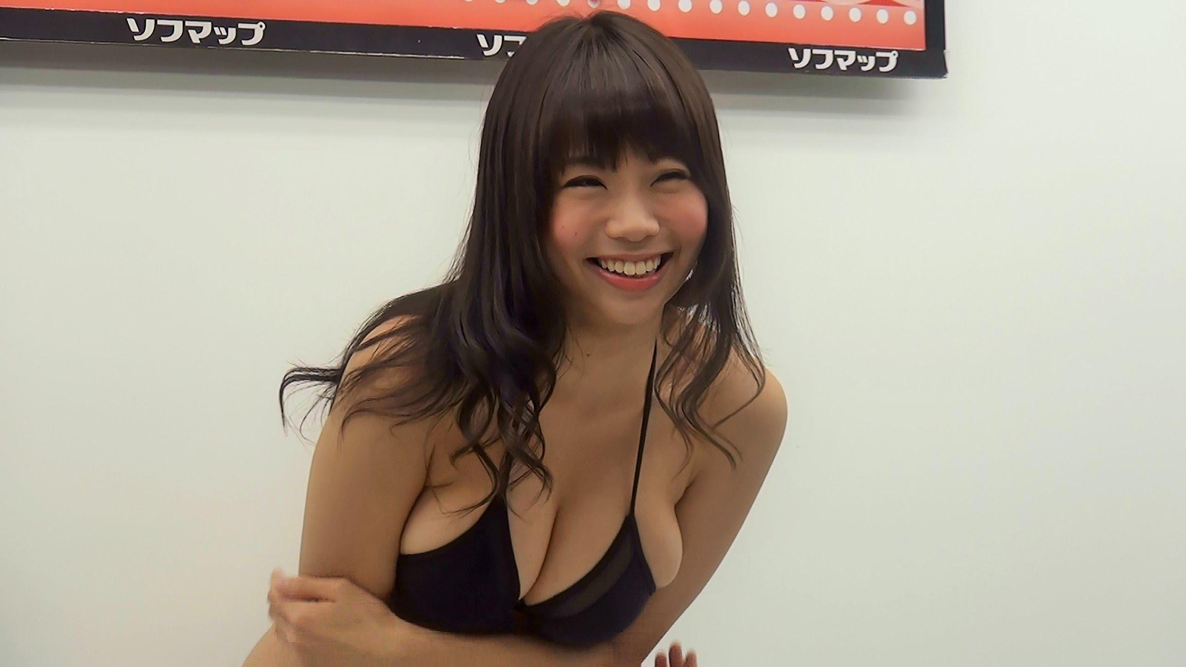 鈴木ふみ奈のHカップおっぱい動画!