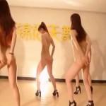 セクシーなK-POPの全裸ダンス?!