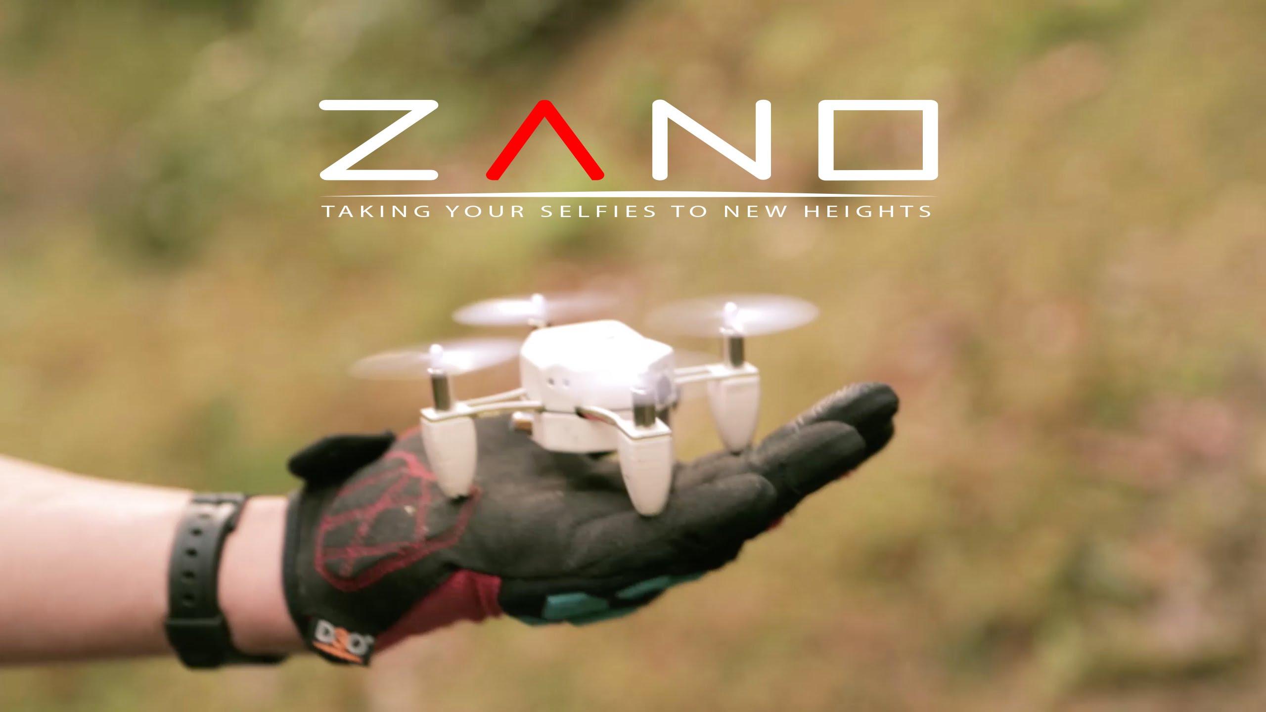 手のひらサイズのドローン「ZANO」