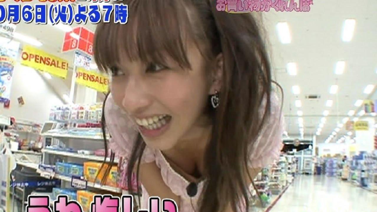 【お宝】テレビに映った芸能人のパンチラ&胸チラ画像集!