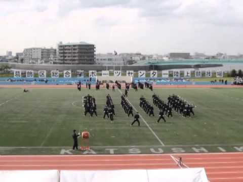 キレキレの応援合戦!都立隅田川高校