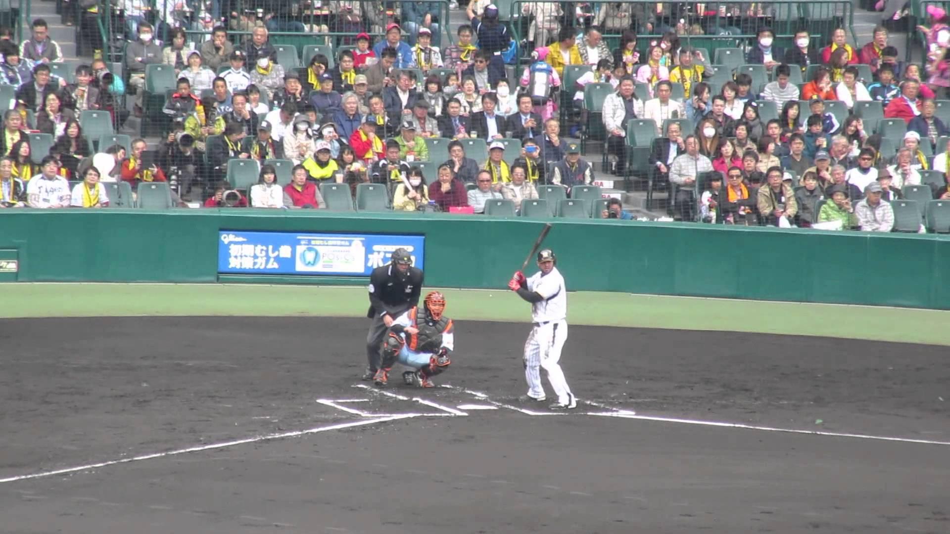 【阪神】ゴメス5 ヒッティングマーチ!