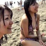 女の子を海でナンパ!