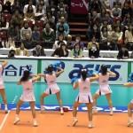 東レ アローズ のチアリーダー動画!