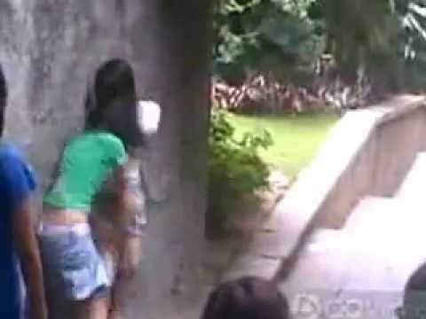 【中国】女子中学生の集団いじめの動画【壮絶】