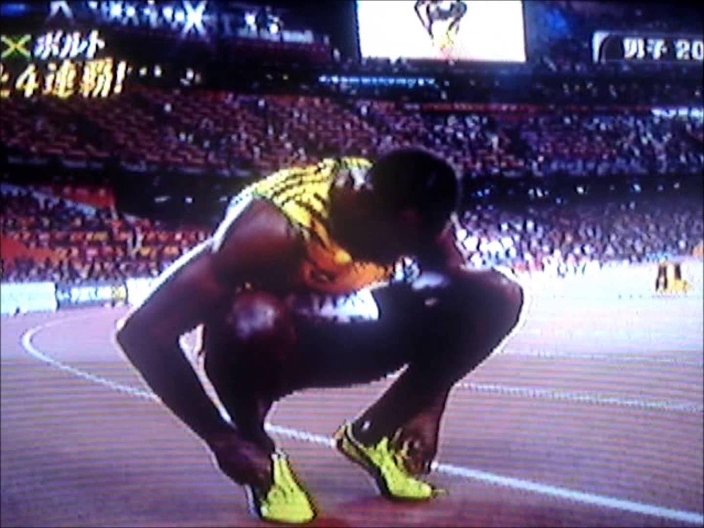 【 世界陸上2015北京】 200m 決勝  ボルト VS ガトリン
