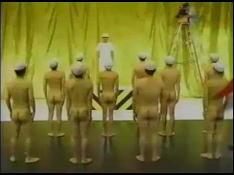 全裸でラジオ体操を踊ってみた!