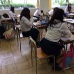 女子高生が教室で戯れるVine動画!