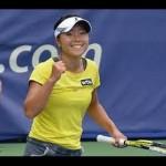 【テニスプレイヤー】奈良くるみ選手のプレイ動画