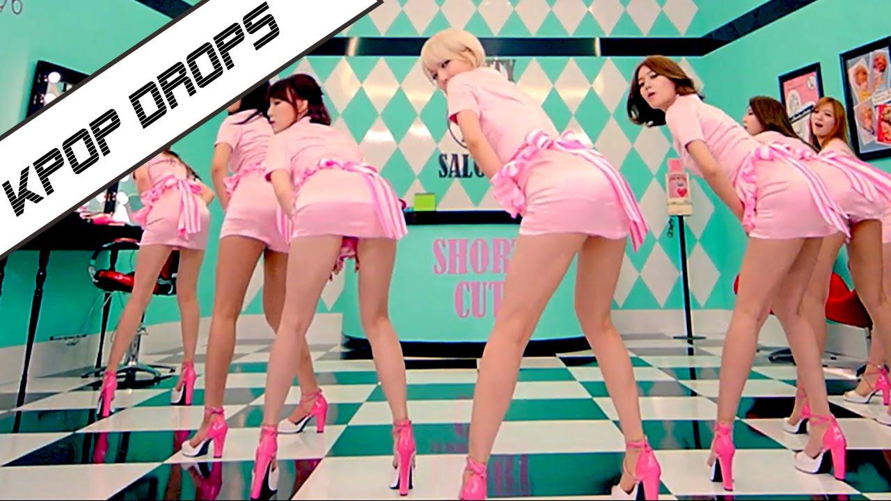 韓国のアイドルグループ『AOA』のセクシーダンス!