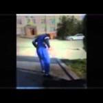 【閲覧注意】焼身自殺の男性を映した動画