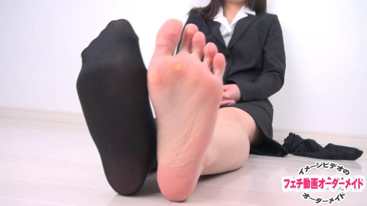OLの足の裏