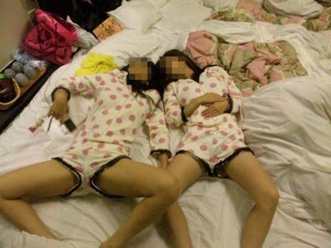 女子高生のテンションMAXなお泊り動画