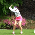 韓国の巨乳ゴルファー アン・シネのセクシーミニスカ動画
