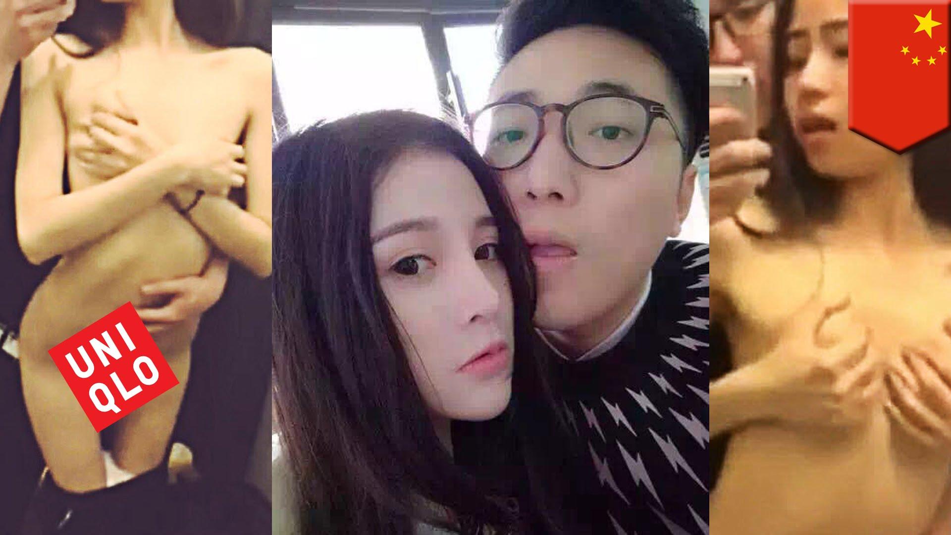 北京のユニクロ試着室でセックス!