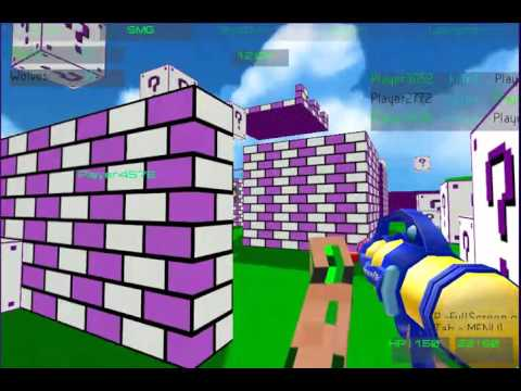 3Dのサバイバルゲーム動画 「Paintball Fun 3D Pixel」