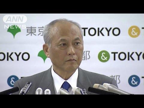"""舛添都知事""""政治資金疑惑""""釈明会見"""