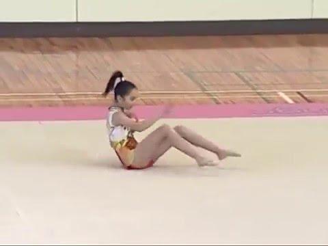 【秘蔵映像】  百田夏菜子(ももいろクローバーZ) 新体操動画!