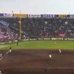 【2017年センバツ高校野球3/26】健大高崎ホームスチール