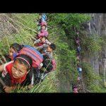 崖村 超危険な中国の崖の上にある村