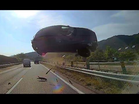 【衝撃】東名バス事故ドライブレコーダー映像