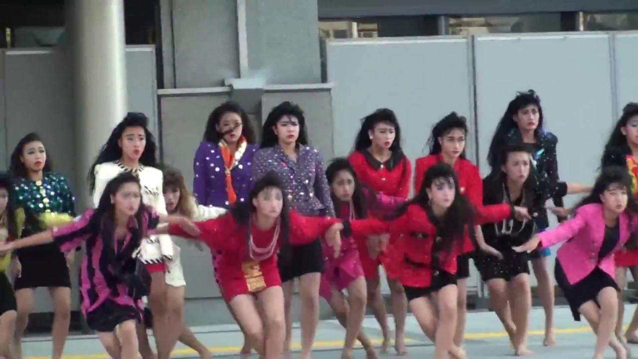 想像以上にキレキレ!高校生のバブリーダンス!!