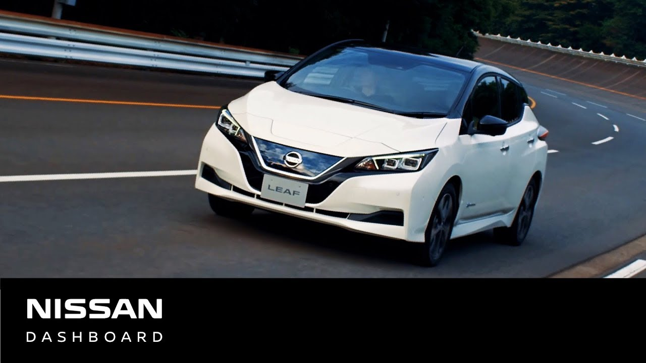 100%電気自動車 新型日産リーフ