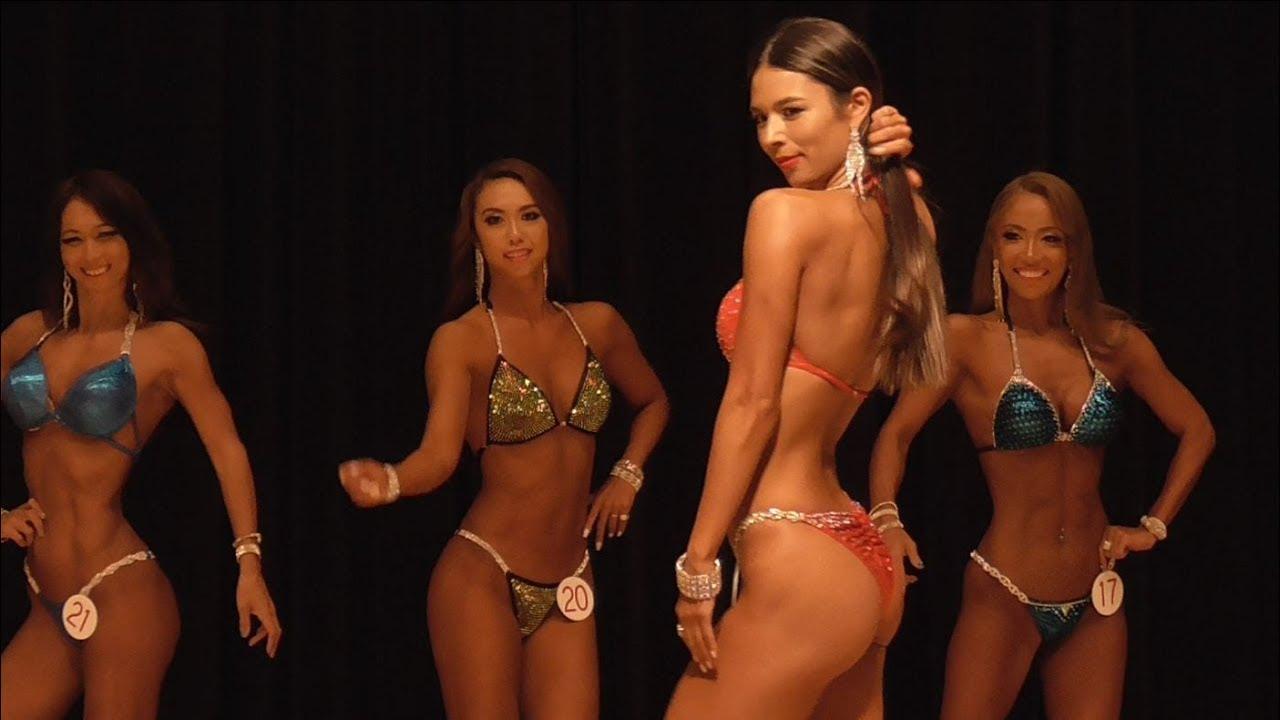 筋肉と女性の美しさを追求!『フィットネスビキニ』